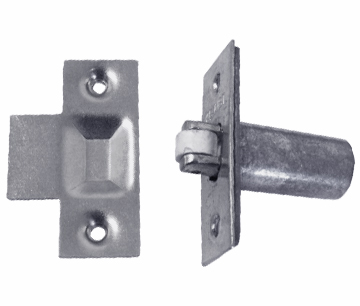 Roller Ball Latch Nickel Plated