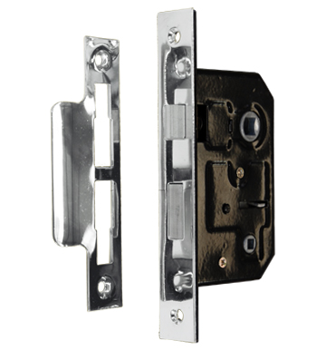 Bathroom Lock Polished Nickel