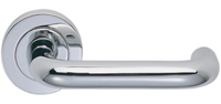 Polished chrome door handle