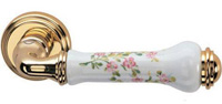 Valli and Valli floral door handle